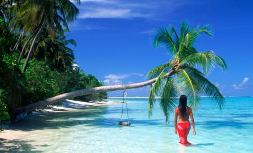 Tahiti and/or Seychelles