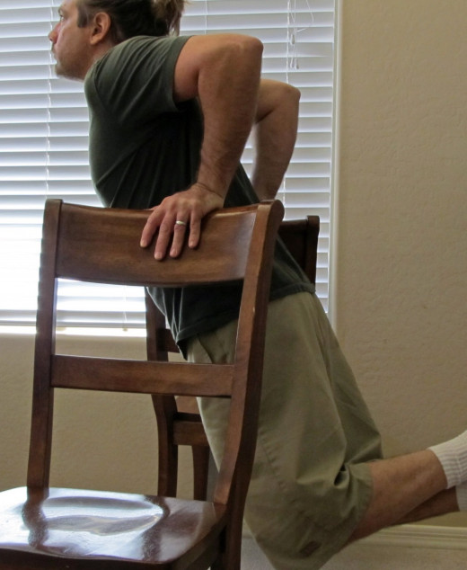 Chair dips.