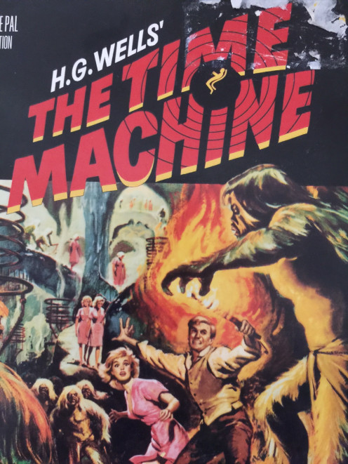 "Go back in time with H.G. Wells ""The Time Machine!"""