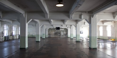Dining Hall At Alcatraz Prison