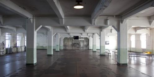 Dining Hall At Alcatraz Prison