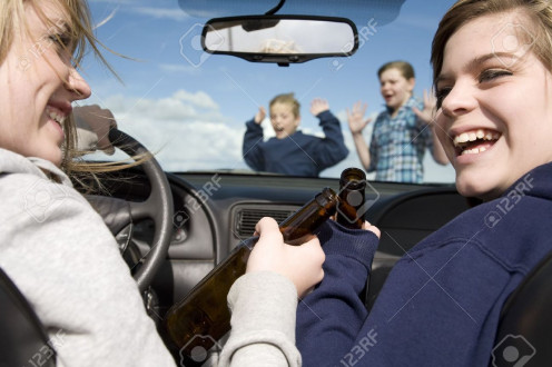 With selfishness involved, there is that danger of not paying attention to others when driving.