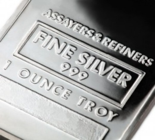 Fine silver-- one ounce.