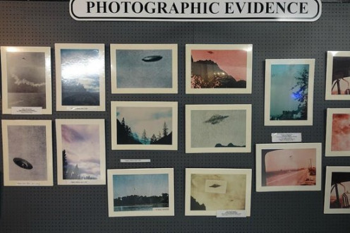 Photos At International UFO Museum And Research Center