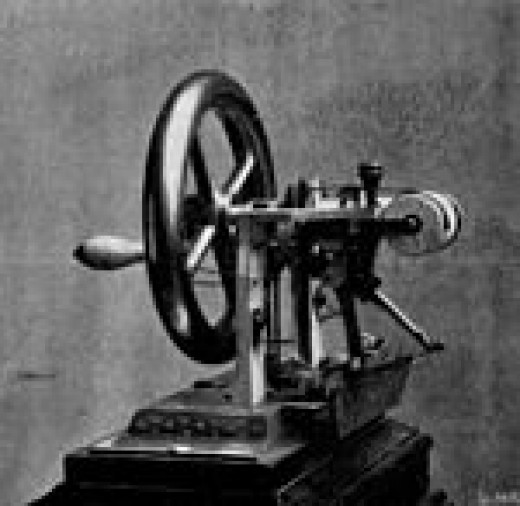 Elias Howe's first sewing machine