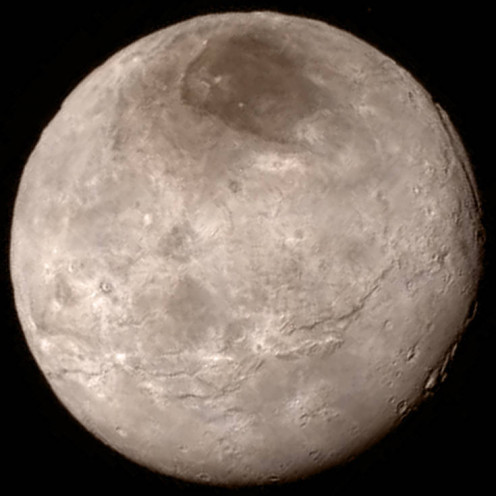 Photo of Charon taken by New Horizons