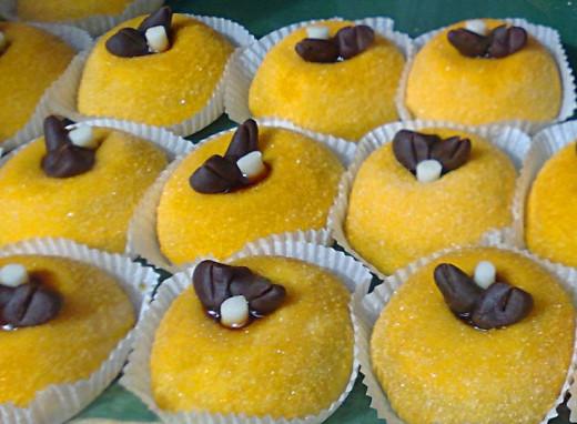 typical cake (polenta e osei)