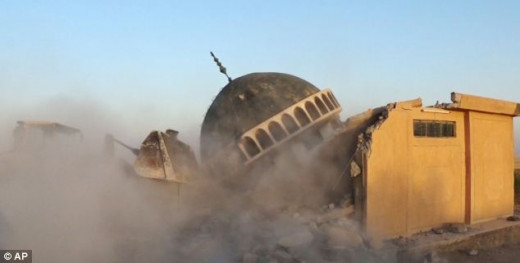 Mosque Destroyed by ISIS