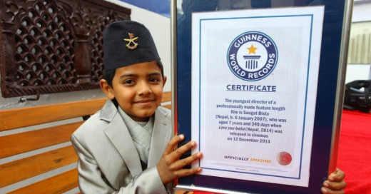 Saugat Bista - Guinness World Record