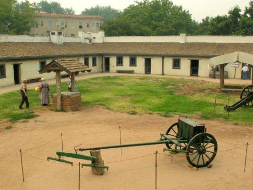 Main Building At Sutter's Fort