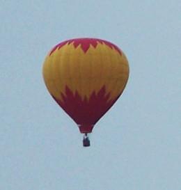 UFO or air balloon...