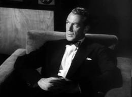 Gary Cooper as Howard Roark.