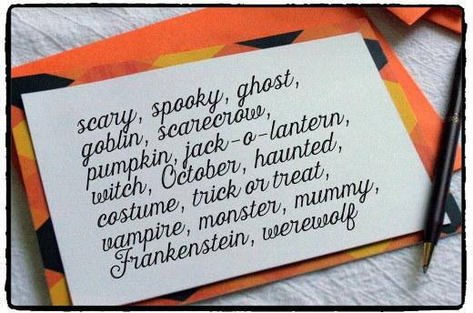 How To Write Your Own Halloween Messages