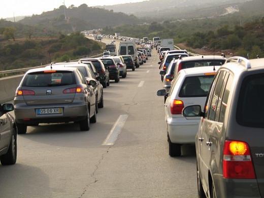 The endless traffic jam