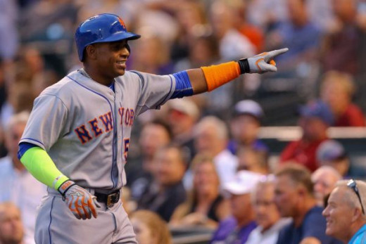 Yoenis Cespedes has helped the Mets to become a title contender.