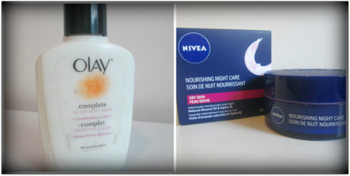 Olay All Day Complete & Nivea Nourishing Night Care (Oily/Combination Skin)
