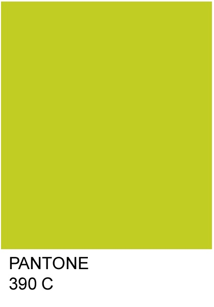 Chartreuse is a bright lime green color.