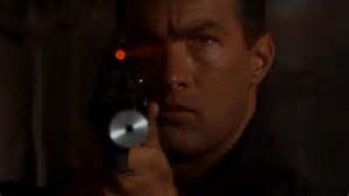 Steven Seagal battled a Jamaican drug cartel in Marked for Death.