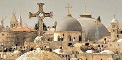 Christianity has sacred bonds with the Holy Land. Christians have made pilgrimages there since ancient times.