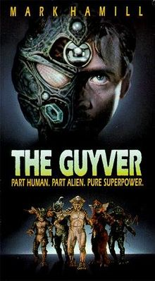 "Promotional poster for ""Guyver"""