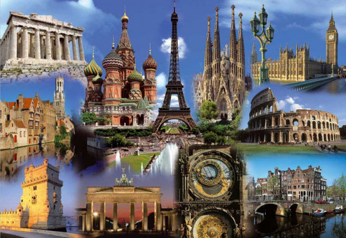 Europe is a photographer's paradise offering so many possibilities in destination and unmatched sightseeing delights.
