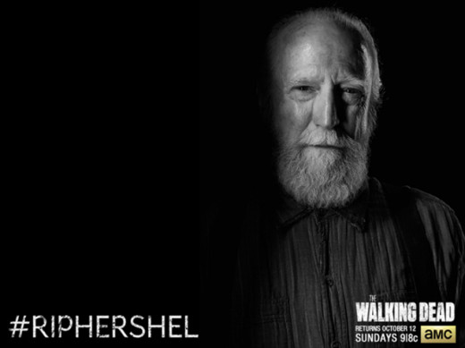 5 Most Shocking Tv Deaths; Hershel Greene