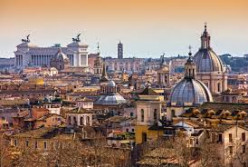 Among its many attractions include Saint Peter's Basilica, the world's largest church and site where Saint Peter the Apostle was martyred and buried is located here as is the Sistine Chapel in the Vatican, famous for Michelangelo's frescoes.