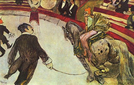 The Circus.  He painted what he could no longer do for himself.