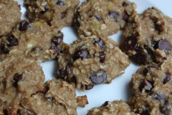 Easy Bake Chocolate Chip Banana Oatmeal Cookies