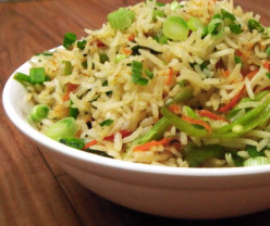 Chinese Fried Rice - Vegetable Fried Rice