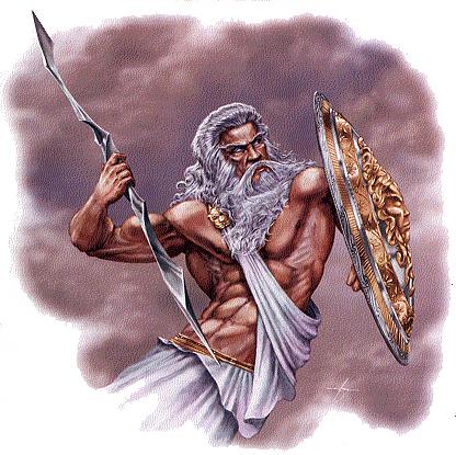 The Greek god Zues