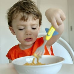 What to do with a toddler who is a picky messy eater!