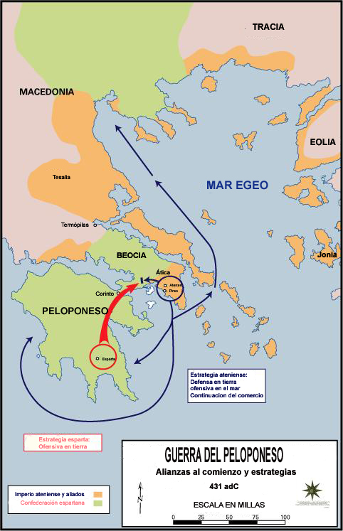 But the Peloponnesian War, for instance, starting in 431 B.C., will not be re-fought.