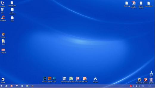 Capture of my entire desktop
