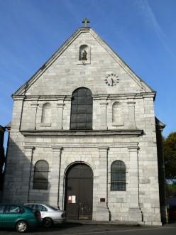 Notre-Dame-de-Givet church frontage