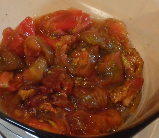 Tomatoes added in sauces will often enhance the flavor of other ingredients