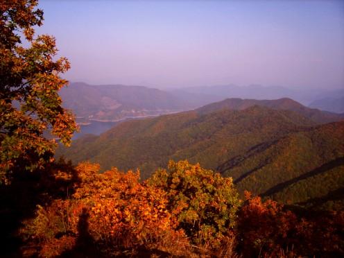 Gyemyeongsan Nat'l Forest/Chungju Lake