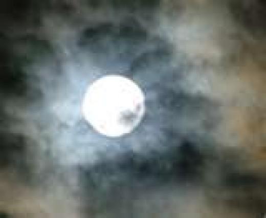 A traveling moon, like mine.