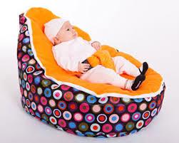 Babies love their baby bean bags