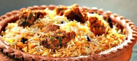 Delicious Awadhi Biryani