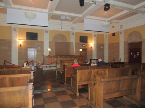 Second Floor Courtroom At Mob Museum