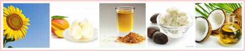 Natural & Organic Ingredients of lip balms