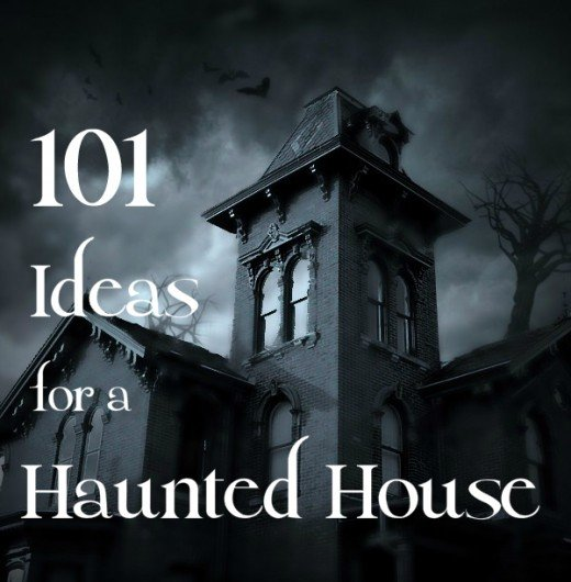 101 ideas to create a scary haunted house holidappy Haunted house drawing ideas