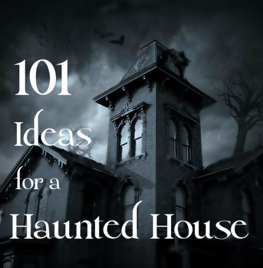 101 ideas to create a scary haunted house holidappy for Good themes for a haunted house