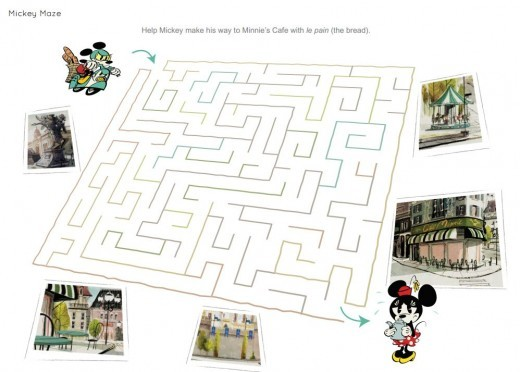 Printable maze.