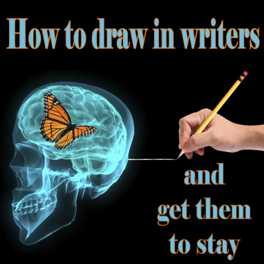 Draw in writers and keep them happy and productive by following these steps.
