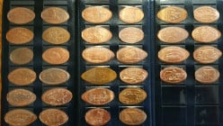 Collecting Souvenir Pressed Pennies From Disney And Around The World, An Extraordinary, Fun Hobby