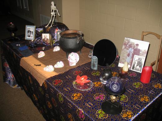 Ancestor shrine