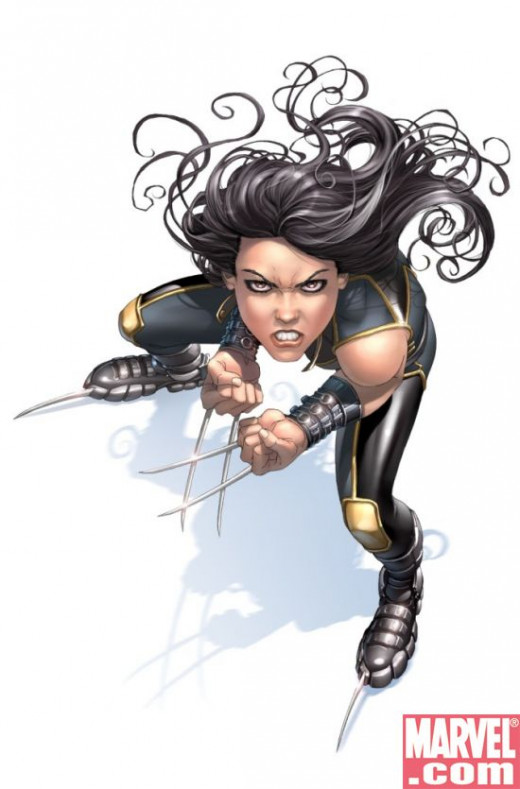 """This is Laura, or, as you may have heard, Experiment X-23."""