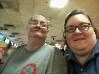 Personal photo of me and my partner taken in November 2014.